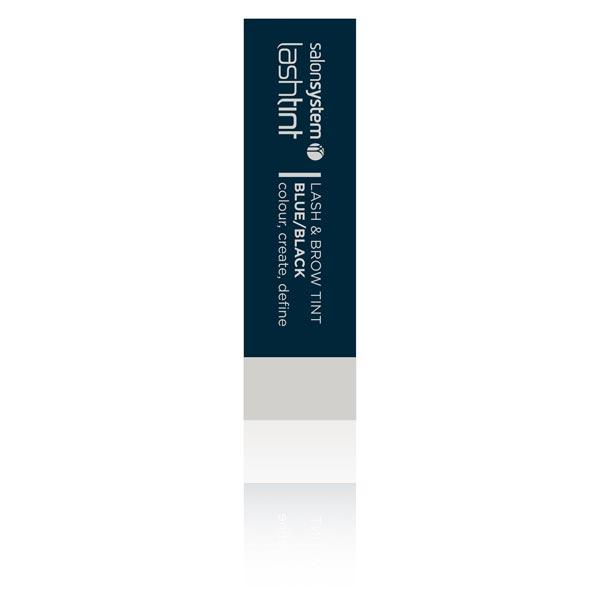 Salon System Eyelash Dye Blue Black Box