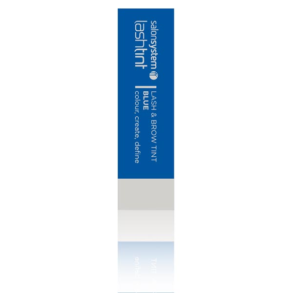 Salon System Eyelash Dye Blue box