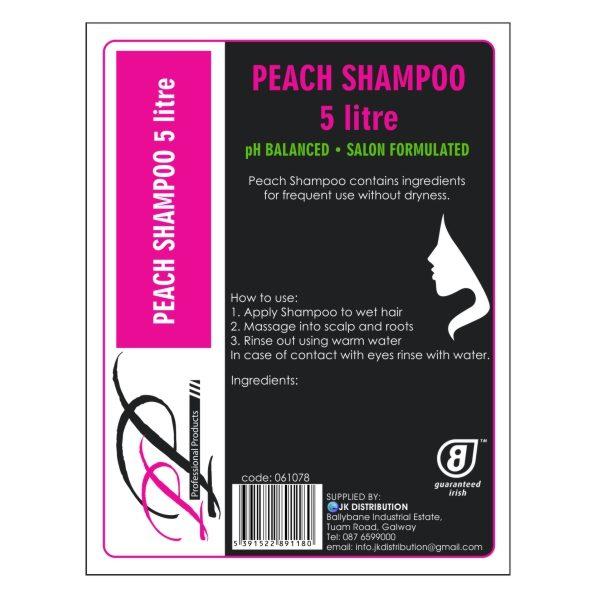 PP Peach Shampoo 5000ml