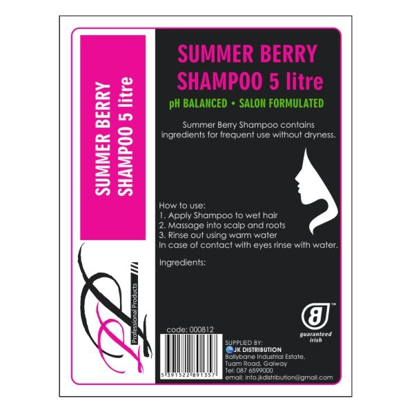PP Summer Berry Shampoo 5000ml
