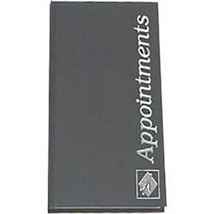 Agenda 3 Col Appt Book Black
