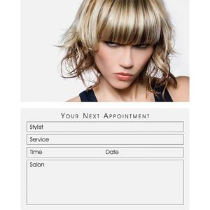 Hair Appointment Card