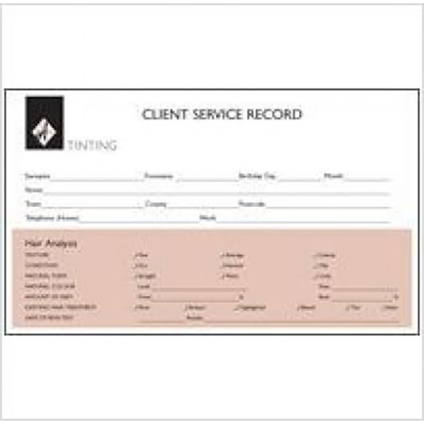 Agenda Body Treatment Record Card The Hair And Beauty