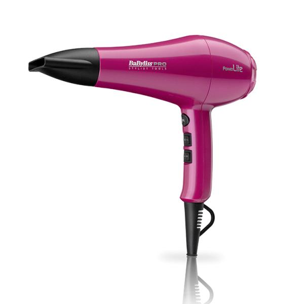 BaByliss Powerlite Pink Hair Dryer