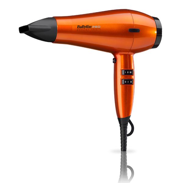BaByliss Spectrum Orange Flame Hair Dryer