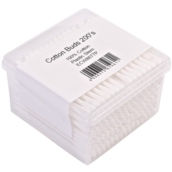 Cotton Buds Plastic Stem