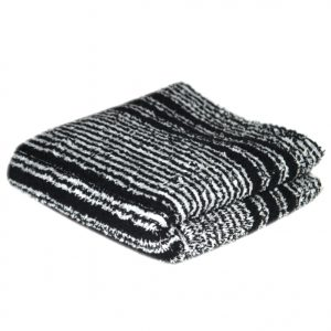 Crown Black & White Crown Towel