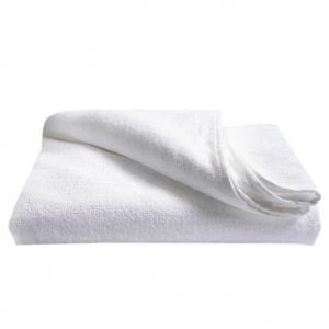 Crown White Towel