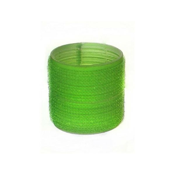 Green Velcro Rollers 21mm 6pk