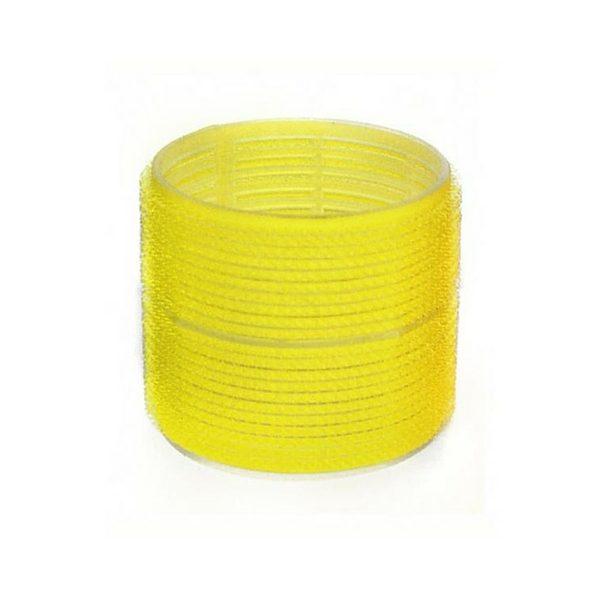 Yellow Velcro Rollers 32mm 6pk