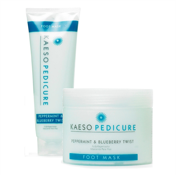 Kaeso Peppermint & Blueberry Twist Foot Mask