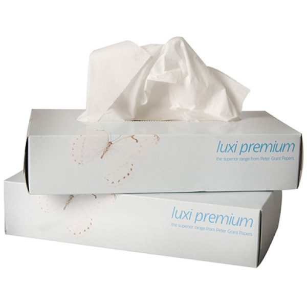 Luxury 2 Ply Facial Tissues - 24 Boxes