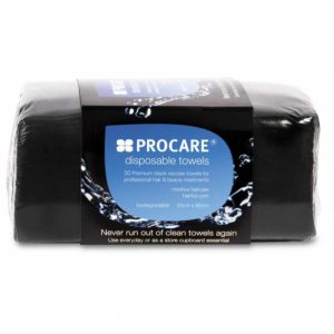 Procare Disposable Black Towels