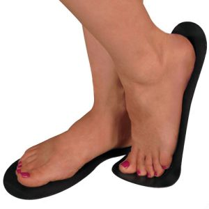 Sticky Feet Black Foam (25 pairs)