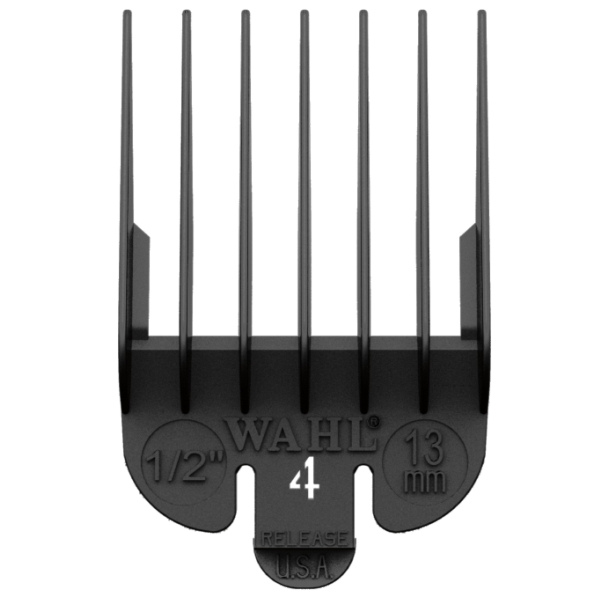 Wahl Attachment Guide Comb #4 Black