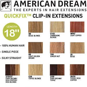 American Dream Hair Extension Single Strip