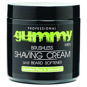 Gummy Menthol Brushless Shaving Cream 300ml