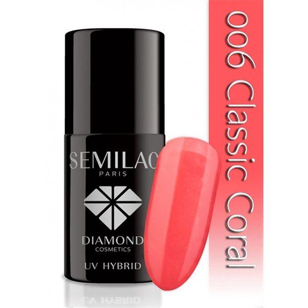 UV Hybrid Semilac Classic Coral