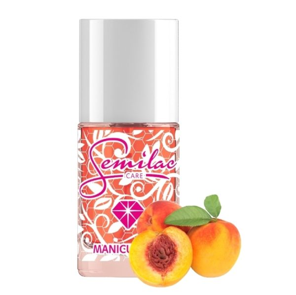 Semilac Cuticle Oil Peach 12ml