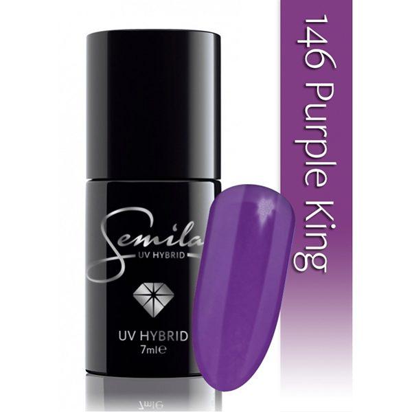 UV Hybrid Semilac Purple King No 146