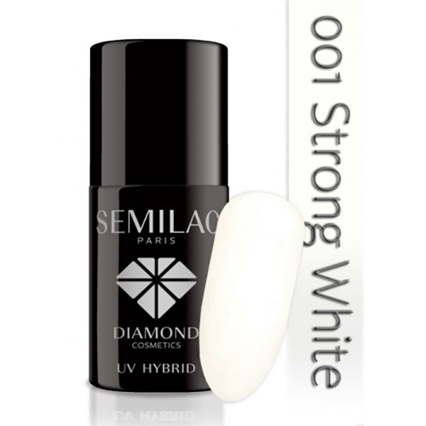 Semilac UV Strong White No 001