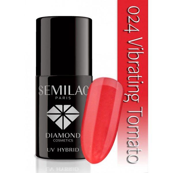 UV Hybrid Semilac Vibrating Tomato