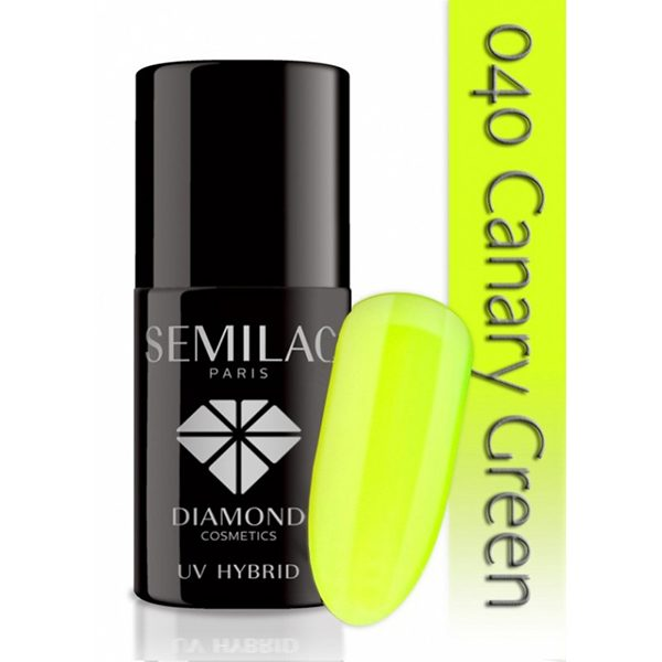 UV Hybrid Semilac Canary Green