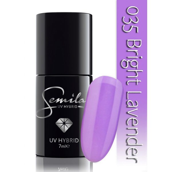 UV Hybrid Semilac Bright Lavender 035