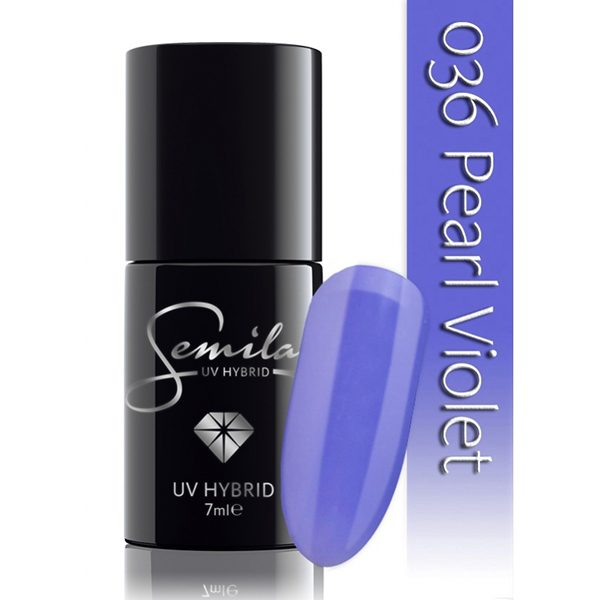 UV Hybrid Semilac Pearl Violet