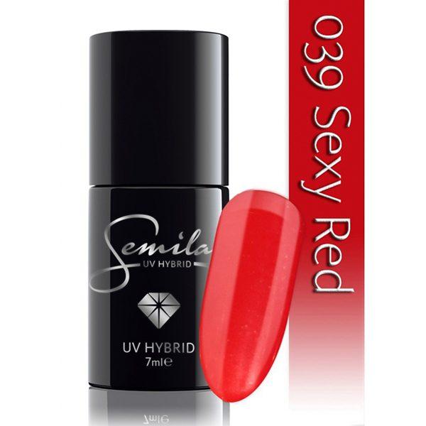 UV Hybrid Semilac Sexy Red