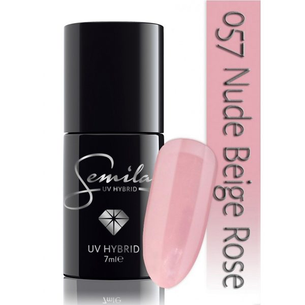 UV Hybrid Semilac Nude Beige