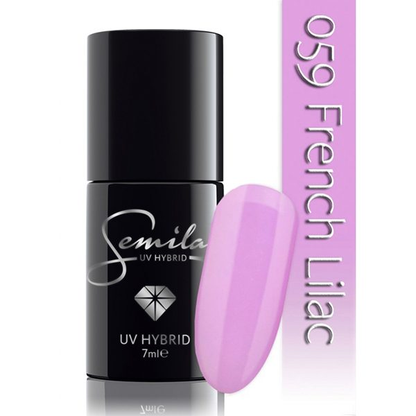UV Hybrid Semilac French Lilac
