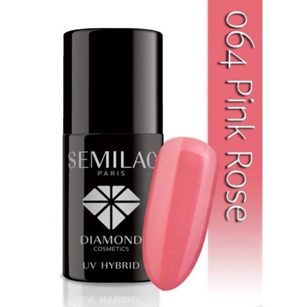 UV Hybrid Semilac Pink Rose