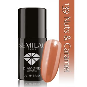 139-semilac-Nuts and caramel
