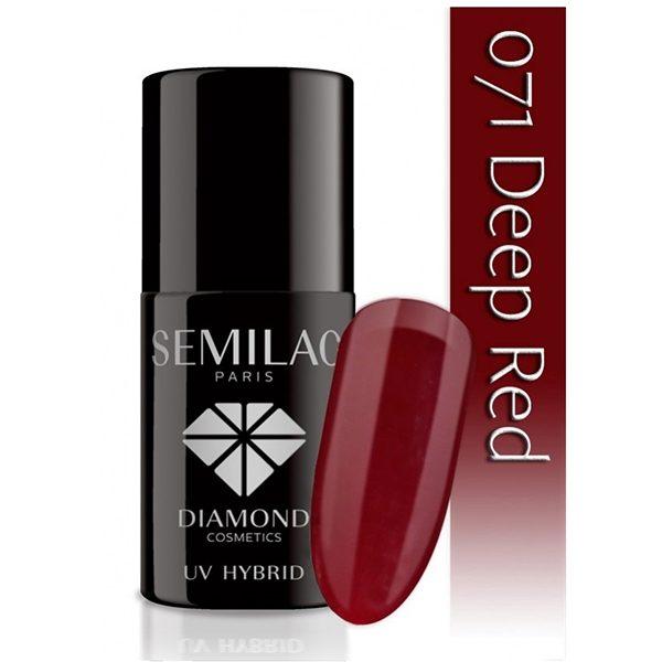 UV Hybrid Semilac Deep Red
