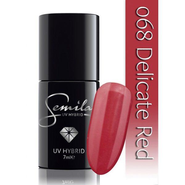UV Hybrid Semilac Delicate Red