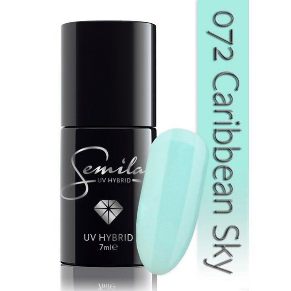 UV Hybrid Semilac Caribbean Sky