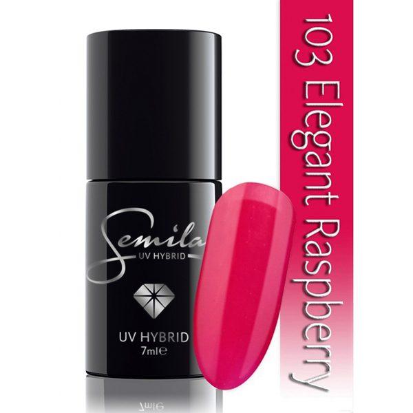 UV Hybrid Semilac Elegant Raspberry