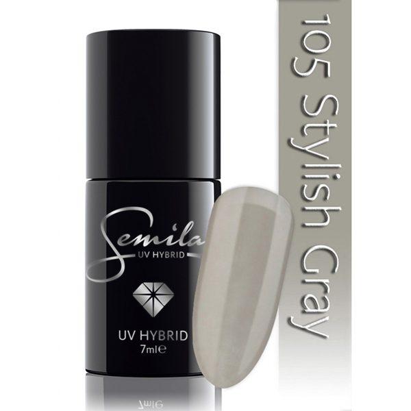 UV Hybrid Semilac Stylish Gray