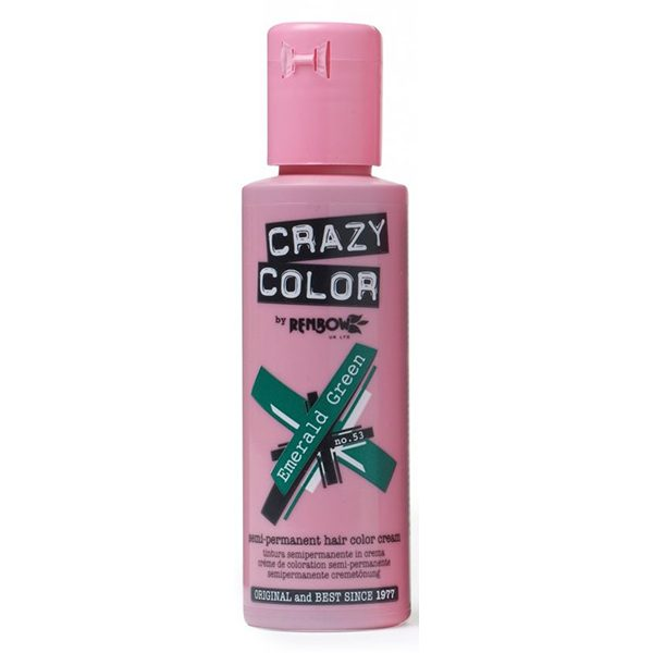 Crazy Color Emerald Green Semi-permanent Dye