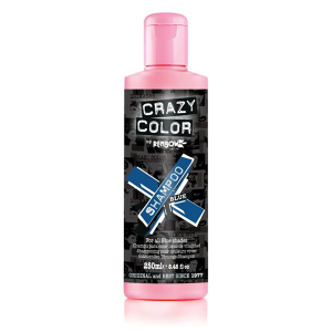 Crazy Vibrant Color Shampoo Blue