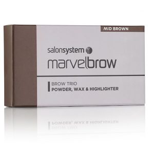 Marvelbrow Brow Trio Mid Brown
