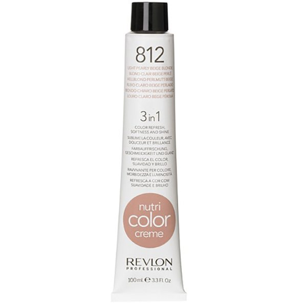 Revlon Nutri Color Creme 812 Pearly Beige 100ml