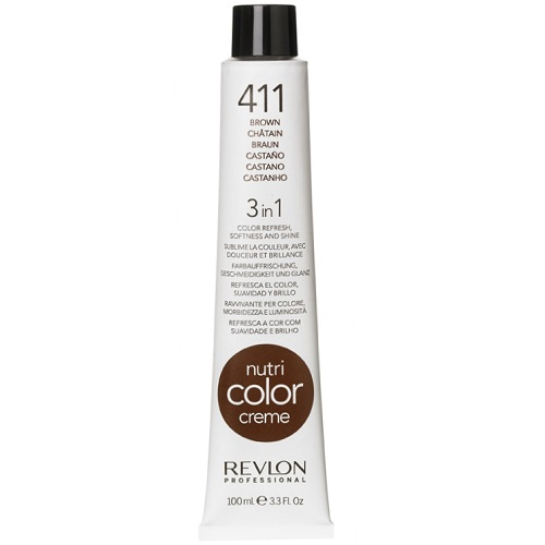 Revlon Nutri Color Creme 411 Ash Brown 100ml