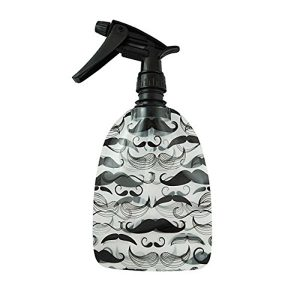 Moustache The Wet Spray Bottle Expands and stands when Full! Empty, it packs flat and fits anywhere! Clean: There is not Spray Bottle out there that is cleaner, greener and more flexible then the Wet Spray Bottle.
