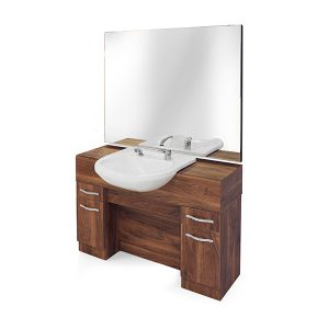 REM Maverick Barber Unit with Basin