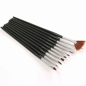 Manicure Company Brush Set Black