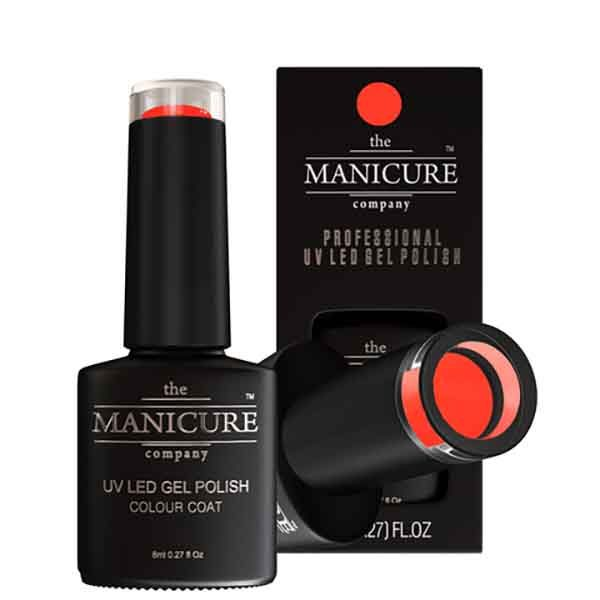 The Manicure Company UV LED Gel Polish Orange Soda 015 8ml