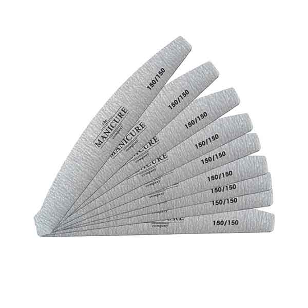 The Manicure Company 150/150 GRIT Professional Nail Files | The Hair ...