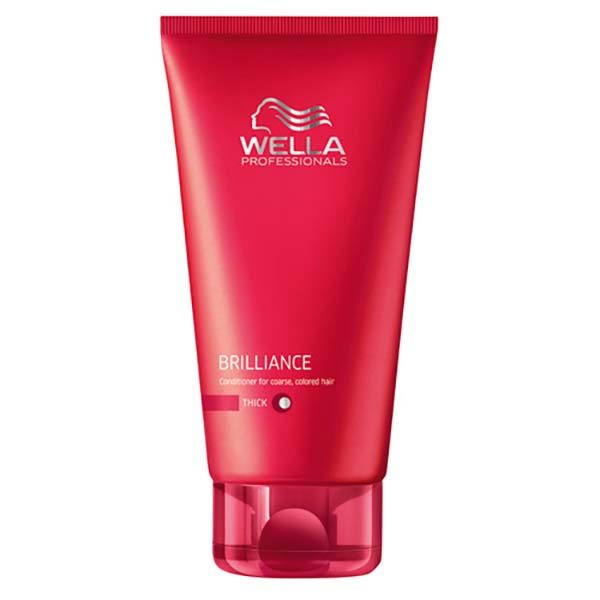 Wella Brilliance Colour Enhancing Conditioner for Coarse Hair 200ml